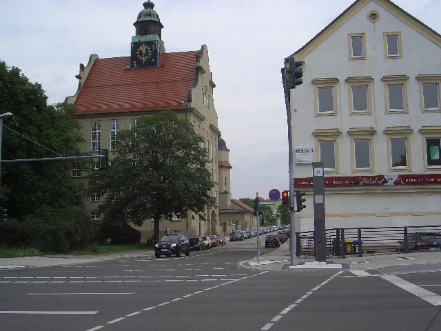 155 Blick in Schloßstr.