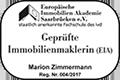 Geprüfte Immobilienmaklerin (EIA)