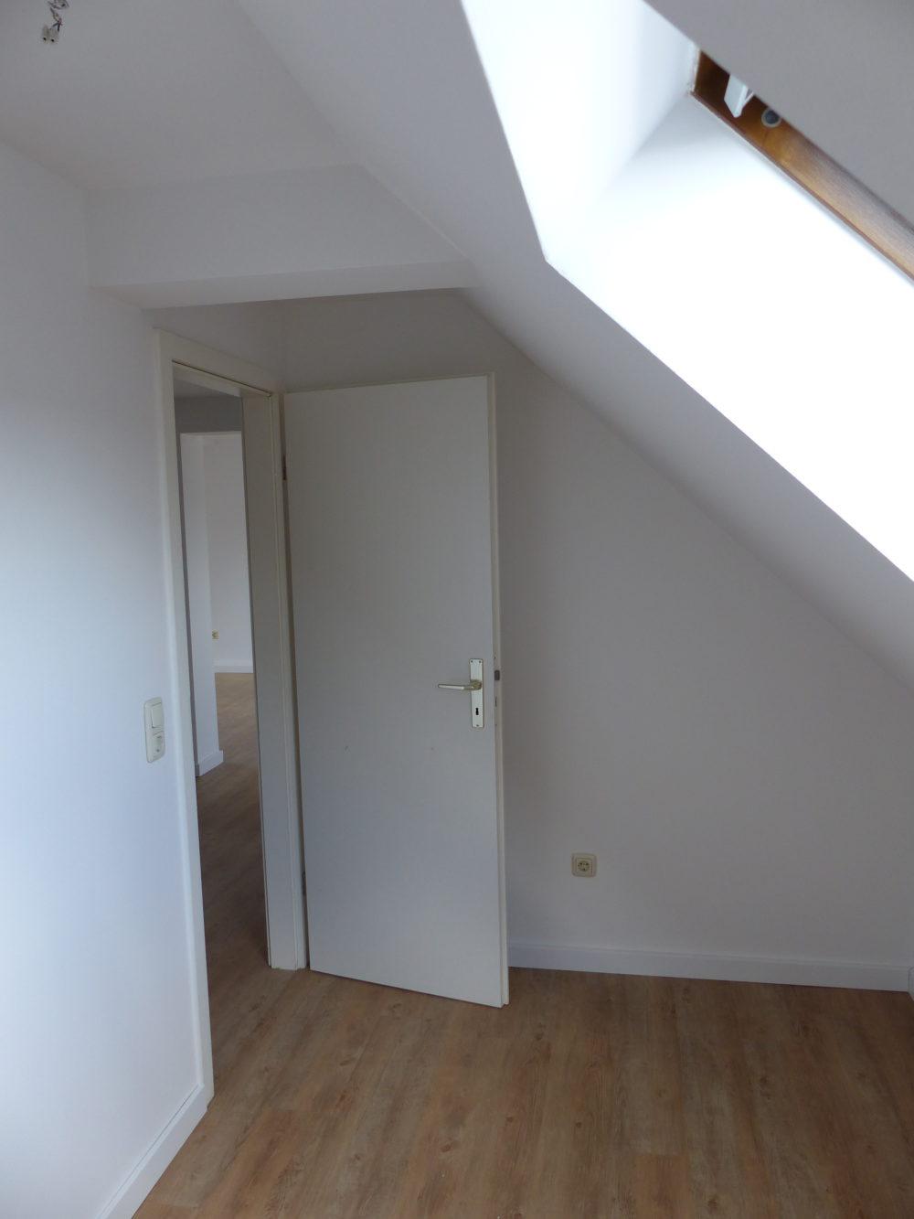 Das Schlafzimmer zum Flur