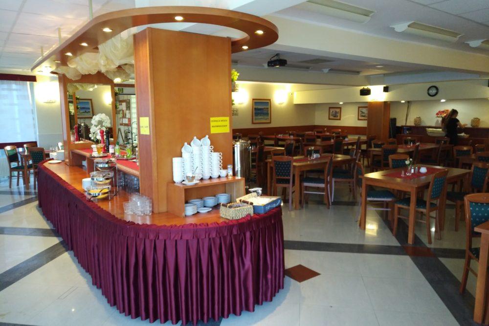 Der Buffettisch im Restaurant