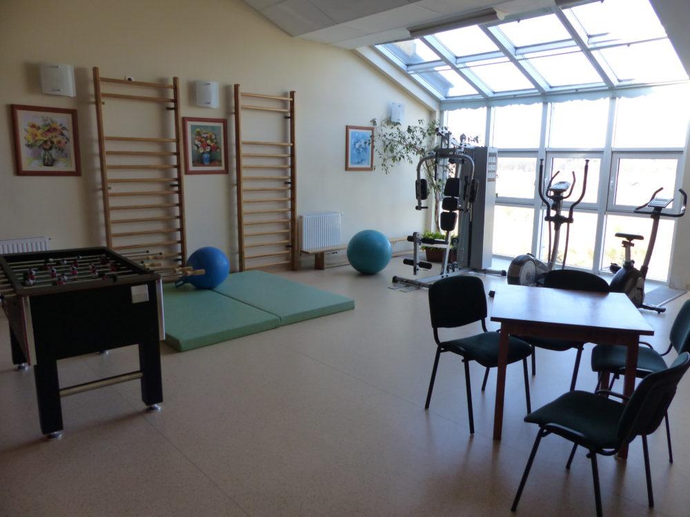 Der Fitness-Raum