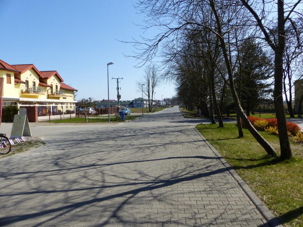 Der Weg zum Hotel
