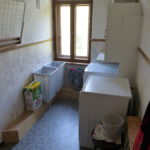 37. Der Wasch- und Trockenraum