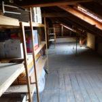 38. Teil des Dachbodens
