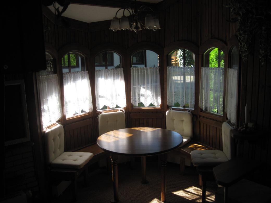 40. Gartenhaus, Sitzecke