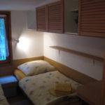 41. Gartenhaus, Schlafzimmer