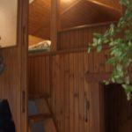 42. Gartenhaus, Hochbett